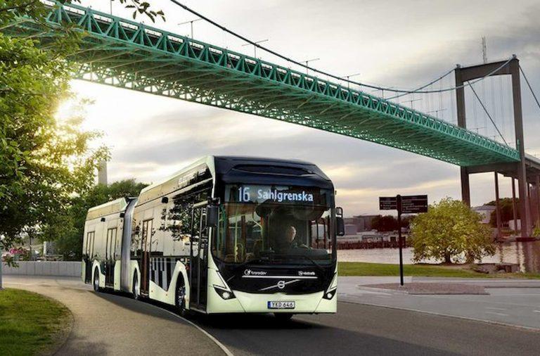 El nuevo Volvo 7900 eléctrico articulado