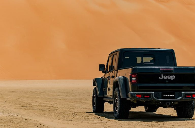 El Jeep Gladiator 2020 será estrenado en el Liwa International Festival