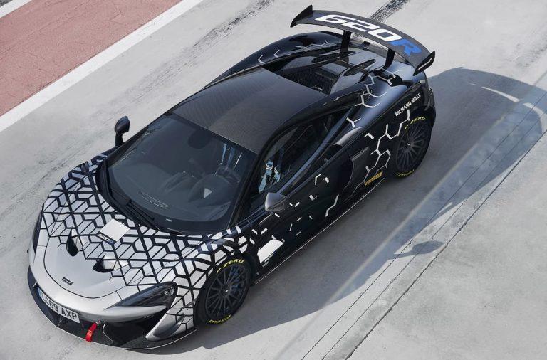 McLaren 620R, espíritu deportivo extremo