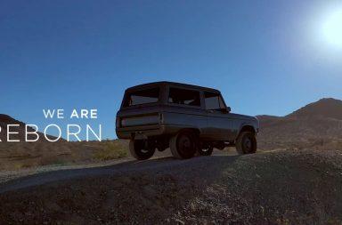 El Ford Bronco renace, esta vez eléctrico